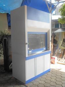 jual-beli lemari asam-fume hood lokal ukuran 1500x800x2400