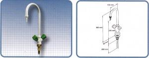 keran air laboratorium untuk furniture laboratorium