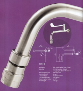 water tap for hospital
