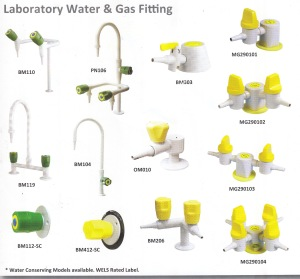 Laboratory water and gas Fitting_ method